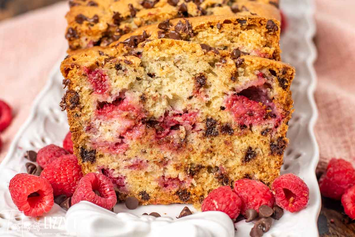 Chocolate Chip Raspberry Bread